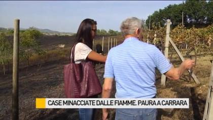 Case minacciate dalle fiamme. Le testimonianze – VIDEO