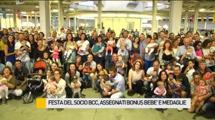 Festa del Socio BCC: assegnati Bonus Bebè e Medaglie – VIDEO