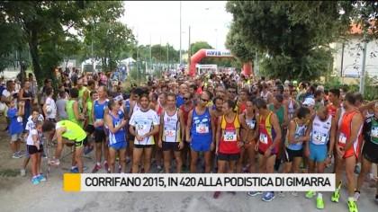 Corrifano 2015, in 420 alla podistica di Gimarra – VIDEO