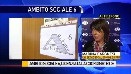 Ambito Sociale VI, licenziata la coordinatrice – La dichiarazione dell'Assessore Bargnesi – VIDEO
