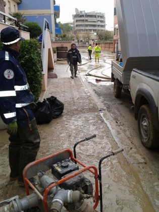 Emergenza maltempo in Campania, in arrivo i volontari della protezione civile di Fano