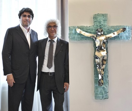 L'Ucid nazionale donerà a Papa Francesco un crocifisso realizzato da Vittorio Livi