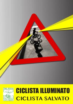 """""""Il ciclista illuminato"""", venerdì 16 iniziativa di For.Bici FIAB Fano"""