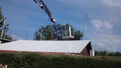 Avanzano i lavori di bonifica dell'amianto