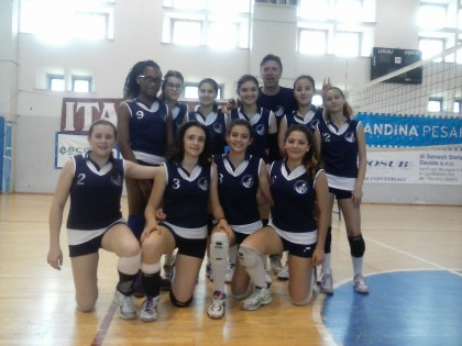 Ai Campionati Studenteschi due squadre di pallavolo di Lucrezia