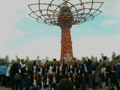 Il Coro giovanile Incanto Malatestiano all'Expo di Milano