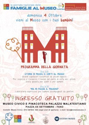 Domenica la Giornata Nazionale delle Famiglie al Museo: ecco il programma