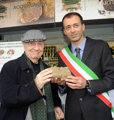 Ruscella d'oro al Maestro della cucina italiana Gualtiero Marchesi
