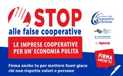 Stop a false cooperative: 4000 adesioni nelle Marche