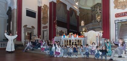 Bambini in festa alla Madonna delle Grazie