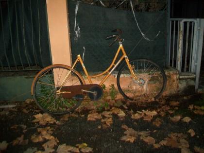 Questa bicicletta è qui da oltre un anno
