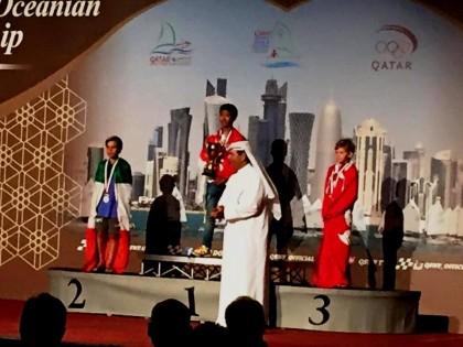 Vela fanese, Marco Gradoni primo degli italiani al Campionato Asiatico in Qatar