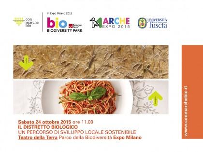 Le Marche organizzano un convegno sul distretto biologico all'Expo di Milano