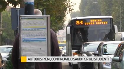 Autobus pieni, continua il disagio per gli studenti – VIDEO