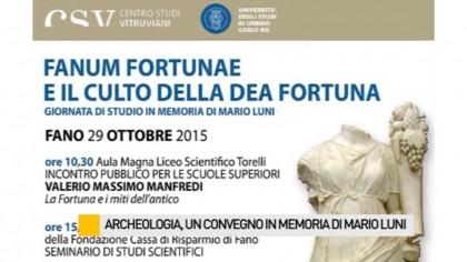 Archeologia, un convegno in memoria di Mario Luni – VIDEO
