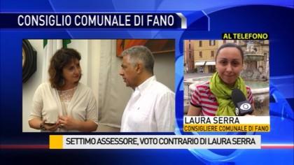 Settimo assessore, voto contrario di Laura Serra – VIDEO