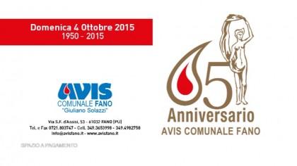 65° anniversario Avis Fano