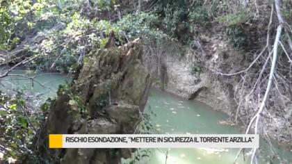"""Rischio esondazione, """"mettere in sicurezza il torrente Arzilla"""" – VIDEO"""