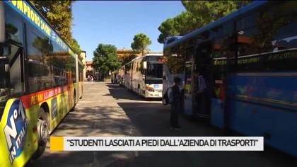 """Studenti lasciati a piedi dall'azienda di trasporti"" – VIDEO"