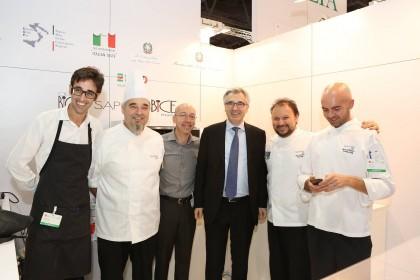 A Dubai l'Ambasciatore della cucina italiana è il forsempronese Luca Zanchetti