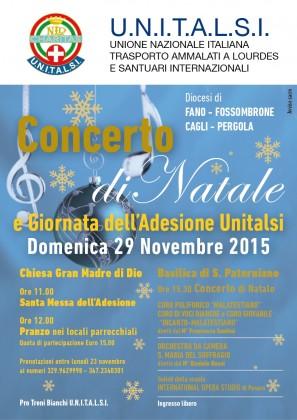 """""""Rito"""" dell'adesione, concerto di Natale, trenini di cioccolato: ecco le iniziative Unitalsi"""