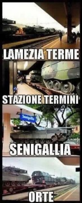 Convoglio carri armati, l'On Ricciatti presenta un'interrogazione per fare chiarezza