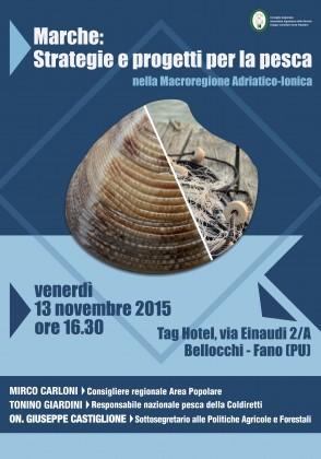 Futuro e problemi della pesca: se ne parla a Fano con il Sottosegretario Castiglione