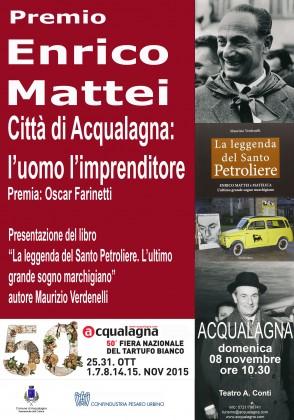 L'eccellenza italiana ad Acqualagna in memoria di Enrico Mattei