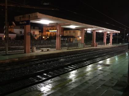 Suicidio alla stazione di Marotta