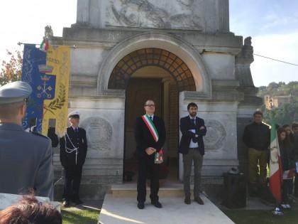 Celebrata a Cartoceto la giornata dell'Unità Nazionale e delle Forze Armate
