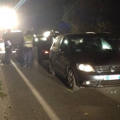 Tre automobilisti feriti in un tamponamento a catena sul ponte Metauro