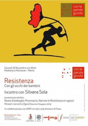 """'Resistenza' è la parola che darà il via alla quinta edizione di """"Con le parole giuste"""""""