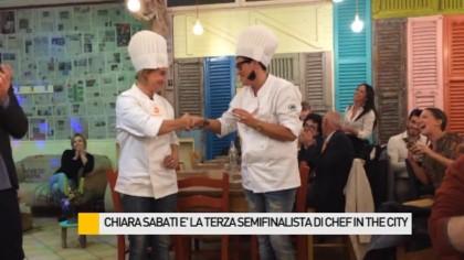 Chiara Sabati è la terza semifinalista di Chef in The City – VIDEO