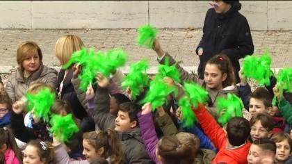 """Consegnata la Bandiera Verde alle scuole """"Corridoni"""" e """"Padalino"""" – VIDEO"""