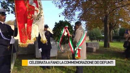 Celebrata a Fano la Commemorazione dei Defunti – VIDEO