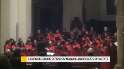 Fano – Rastatt, un fine settimana per celebrare il gemellaggio dei cori della Cattedrale – VIDEO