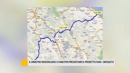Il Ministro Nencini verrà nella città della Fortuna per presentare il progetto della Fano-Grosseto – VIDEO