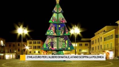 Ecco il nuovo albero di Natale: in legno e alto 12 metri – VIDEO