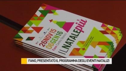 Fano, presentato il programma degli eventi natalizi – VIDEO