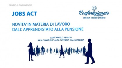 Jobs Act,dall'apprendistato alla pensione – Confartigianato
