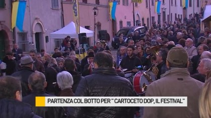 "Partenza col botto per ""Cartoceto Dop, il Festival"" – VIDEO"