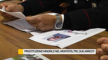 Prostituzione minorile nel Montefeltro, arrestati due ultrasessantenni – VIDEO