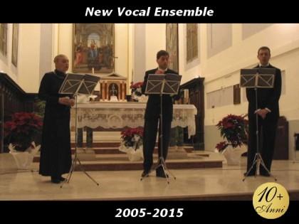 New Vocal Ensemble, una serie di concerti in Provincia per festeggiare il decennale