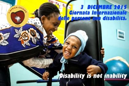"""Giornata della disabilità, iniziativa dell""""Africa Chiama' in Zambia"""