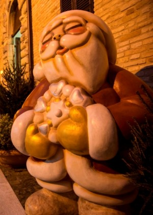 Babbo Natale della Thun a Mombaroccio