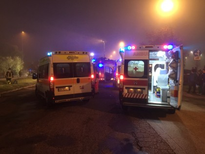 Incidente Bellocchi, fuori pericolo i cinque feriti