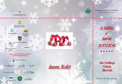 Visite guidate ed eventi natalizi in programma a San Costanzo