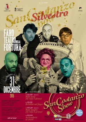 Capodanno al Teatro della Fortuna con i comici del San Costanzo Show