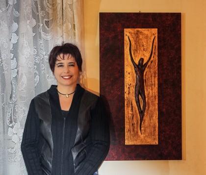 """Artista fanese in Vaticano per consegnare la sua opera: """"Cristo"""""""