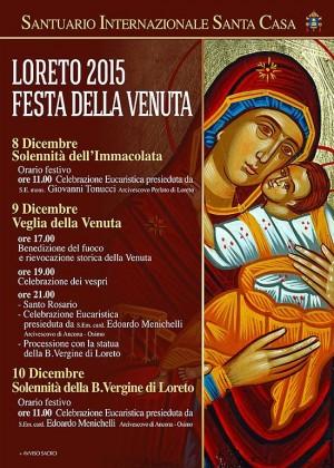 La Festa della Venuta della Santa Casa in diretta su Tele Voce Cristiana